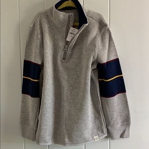 Gap Boys 1/4 zip pull over sweater